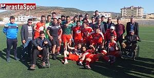 Aksuspor 0-1 Türkoğlu Belediyespor maçtan kareler