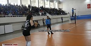 Elbistan Bayan Voleybol Takımı,  Berlin Döner Antalyaspor kadın voleybol takımı maçından kareler