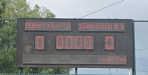 Elbistanspor - Türkoğlu Belediyespor