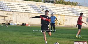 Kahramanmaraşspor'da Tuzlaspor maçı hazırlıkları sürüyor