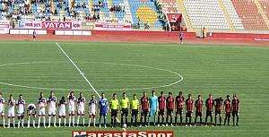 Kahramanmaraşspor  Hacettepe maçında Kareler