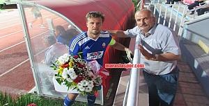 Kahramanmaraşspor - Nazilli Belediyespor maçından kareler