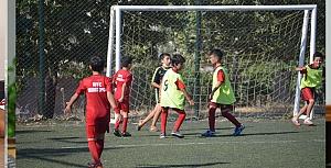 Türkoğlu Gençlerbirliğispor  minikler futbol şöleni