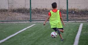 Turuncu Futbol Okulu Çalışmalarından kareler