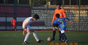 U12 PLAY-OFF KAHRAMANMARAŞ GENÇLİKSPOR 2-1 MARAŞSPOR