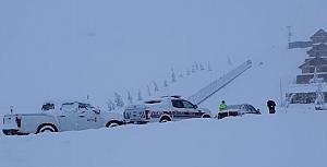 Yedikuyular Kayak Merkezi'nden kareler