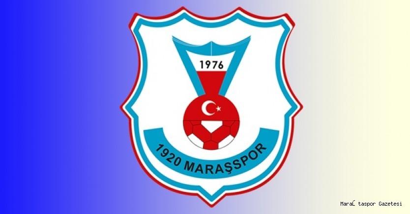 1920 Maraşspor'dan açıklama geldi