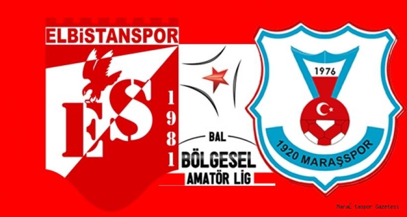 1920 Maraşspor ile Elbistanspor'un ilk hafta maçları belli oldu