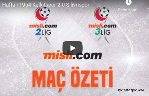 1954 Kelkit Belediyespor - Silivrispor maçının özeti