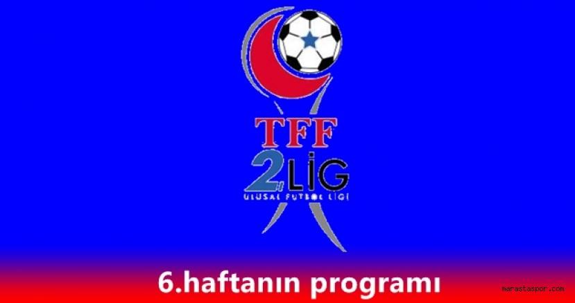 2.Lig Beyaz grupta 6.hafta maçlarını yönetecek hakemler açıklandı