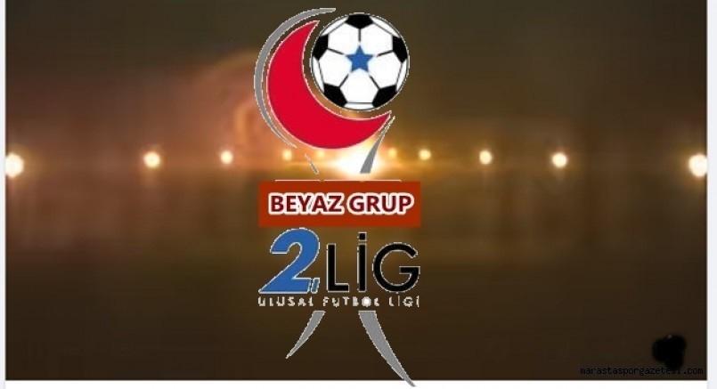 2. Lig Beyaz Grupta Erteleme Maçları Perşembe Günü Oynanacak