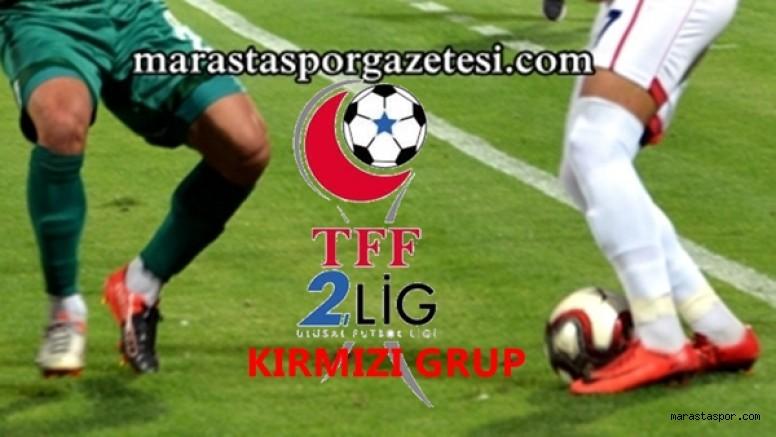 2.Lig Kırmızı Grupta  16.Hafta maçlarının programı ve hakemleri