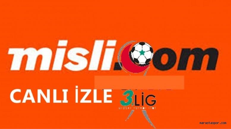 2.lig ve 3.lig 7.haftada Misli.com'un canlı yayınlayacağı maçlar açıklandı