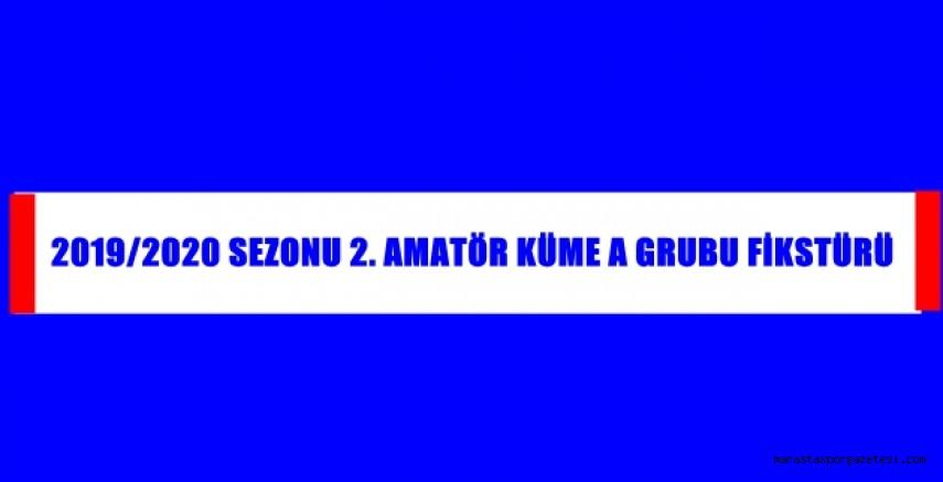 2019 - 2020 Sezonu 2. Amatör Küme A Grubu Fikstürü