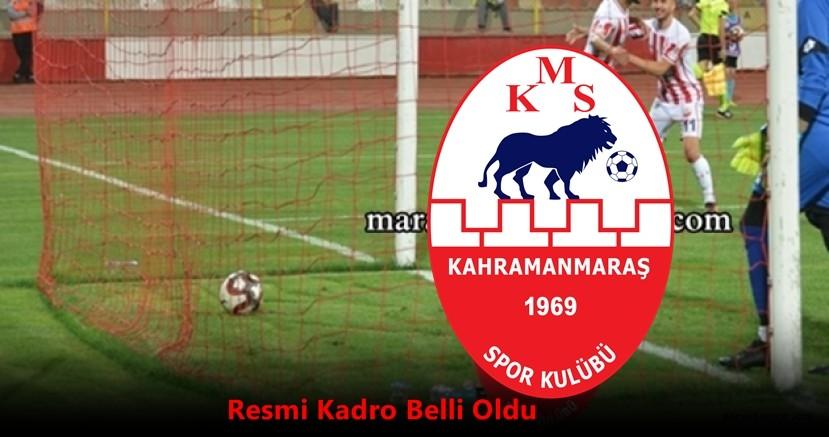 2020-2021 sezonu Kahramanmaraşspor'da Gelenler ve Gidenler