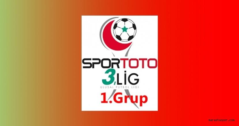 3.Lig 1. Grupta 12.Hafta maçlarının programı