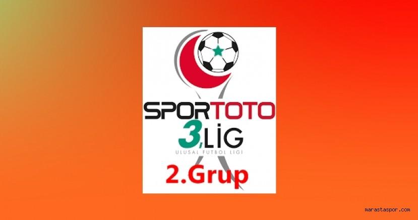 3.Lig 2. Grupta 12.Hafta maçlarının programı