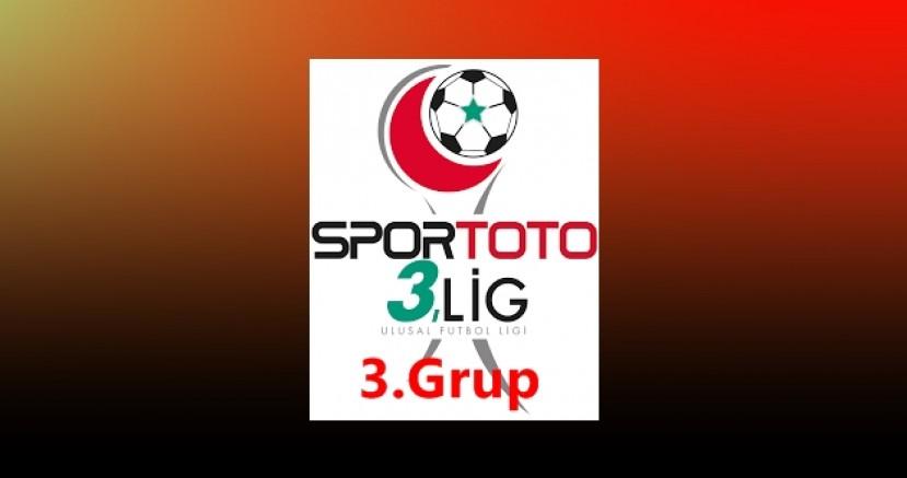 3.Lig 3. Grupta 12.Hafta maçlarının programı