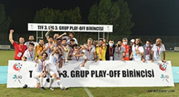 3. Lig 3. Grupta   Pazarspor Şampiyon