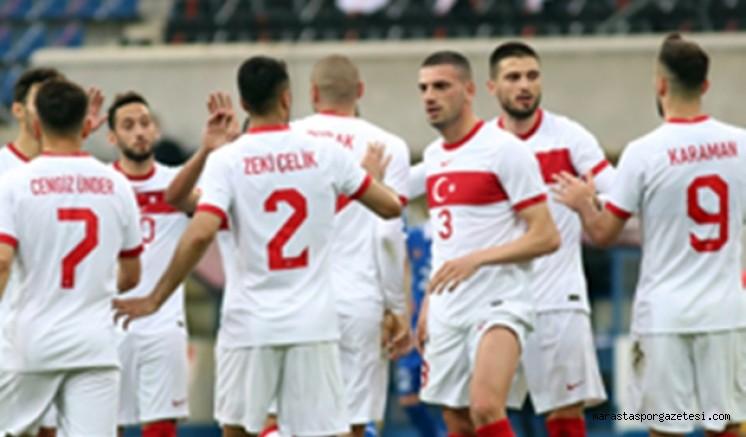 A Millî takım futbolcularının forma numaraları belli oldu