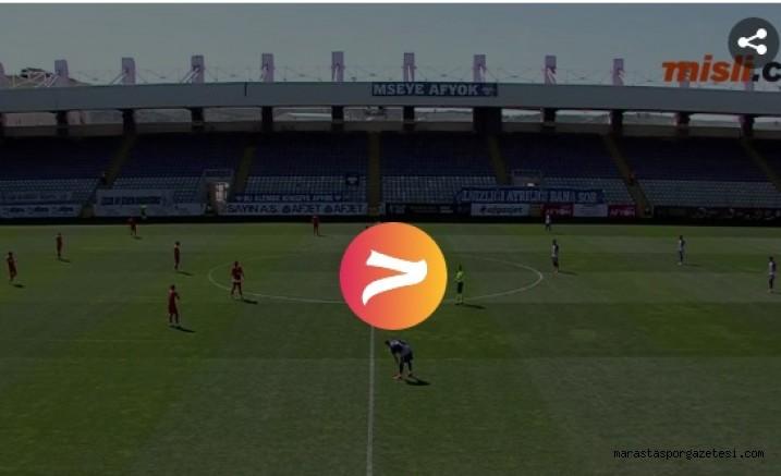 Afjet Afyonspor - Kahramanmaraşspor maçının geniş özeti