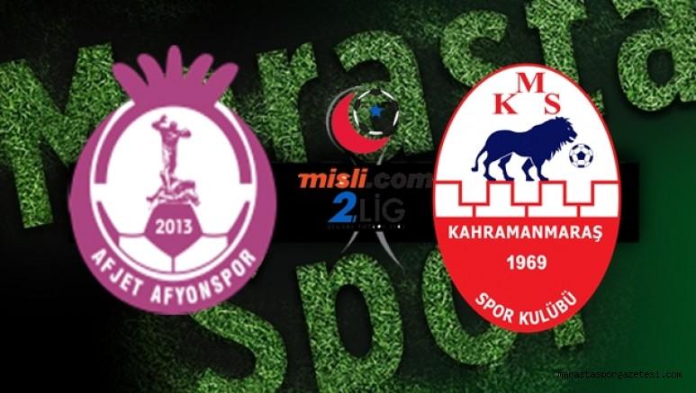 Afyonspor - Kahramanmaraşspor maçı  canlı izle