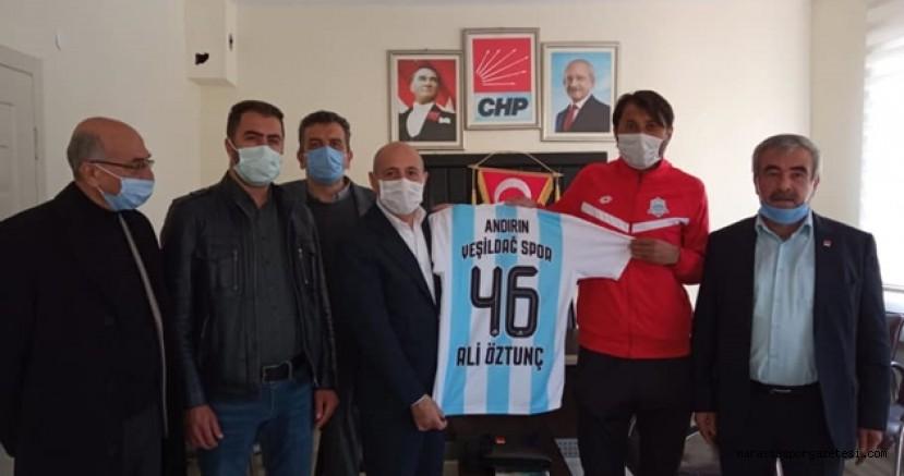 Ali Öztunç, Andırın Yeşildağspor'a destek olacaklarını  belirtti