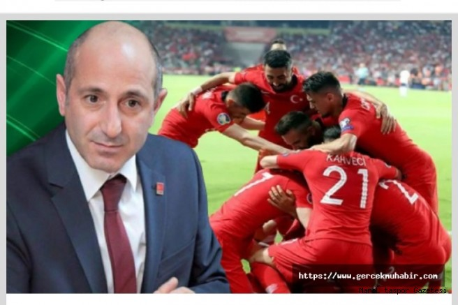 Ali Öztunç: Milli Maç Kahramanmaraş'ta oynansın