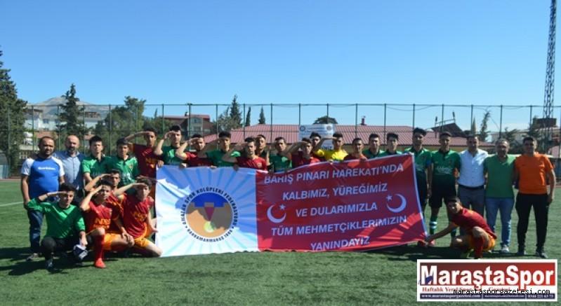 Amatör Futboldan Mehmetçiklerimize Destek