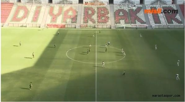 Amed Sportif 3-0 Kocaelispor maçının geniş özeti