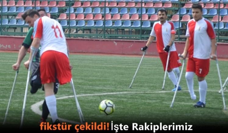 Ampute 2.Ligde Doğu Akdeniz  Engelilerspor'un grubu belli oldu