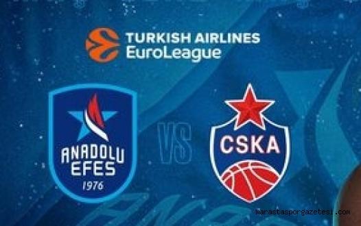 Efes - CSKA Moskova maçı canlı izle - Maç ekranı - Kahramanmaraş'ın Spor Haber Sitesi