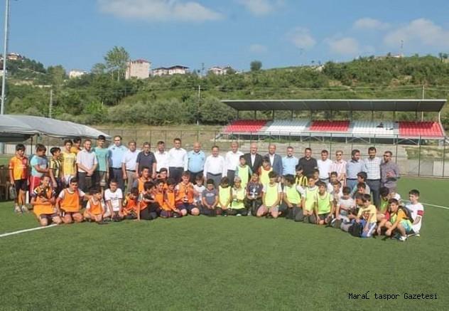 Andırın'da Yaz Kuran Kursları Arası Futbol Turnuvası Sona Erdi.