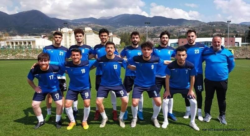 Andırın Yeşildağspor, ikinci hazırlık maçını Düziçispor yaptı