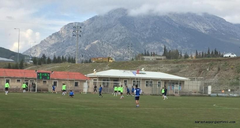 Andırın Yeşildağspor, ilk hazırlık maçını yaptı