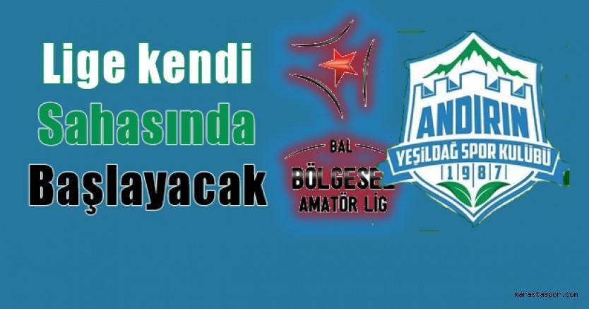 Andırın Yeşildağspor'un 2021-2022 sezonu fikstürü belli oldu