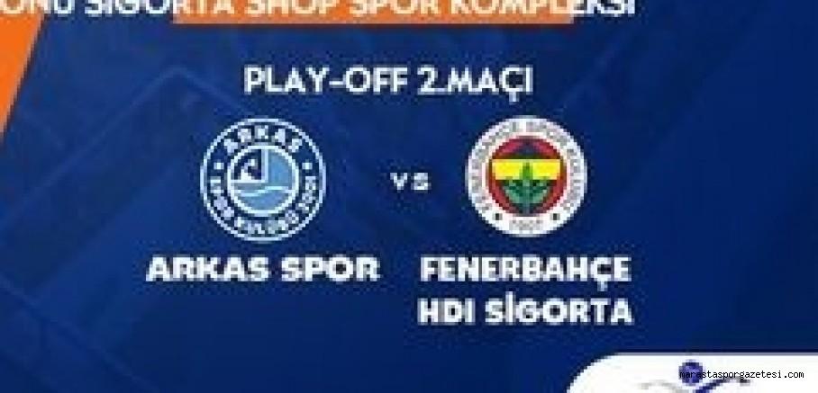 Arkas Spor - Fenerbahçe maçı canlı izle