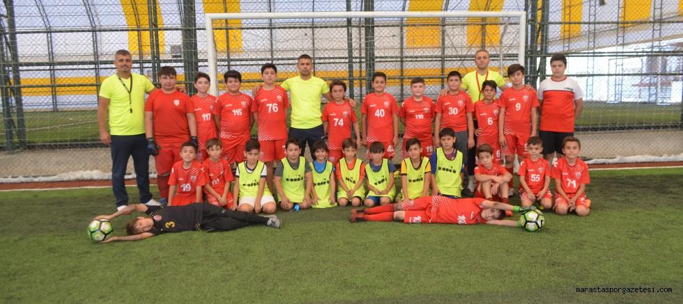 ATC Maraş Gençlik Futbol Okulu Çalışmalarına Ömer Gök yönetiminde devam ediyor