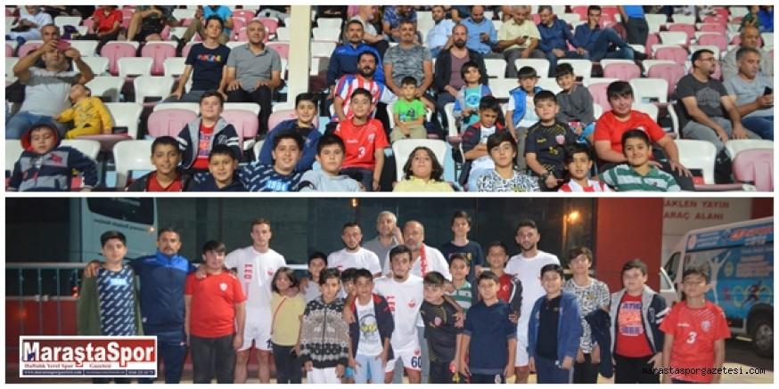 ATC Maraşspor futbol okulunun minik sporcularıda yerlerini aldı