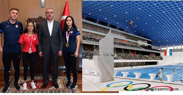 Başkan Güngör, Olimpik Yüzme Havuzu inşa edeceğiz