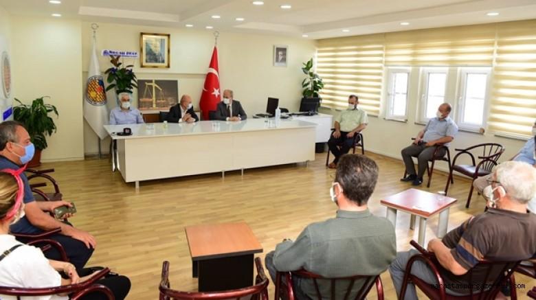 Başkan Okay, ASKF'yi ziyaret etti! Spora ve sporcuya olan desteklerini vurguladı