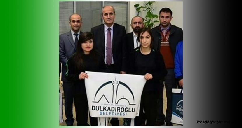 Başkan Okay'ın talimatıyla Bayan Futbol takımına  yardımında bulunuldu.