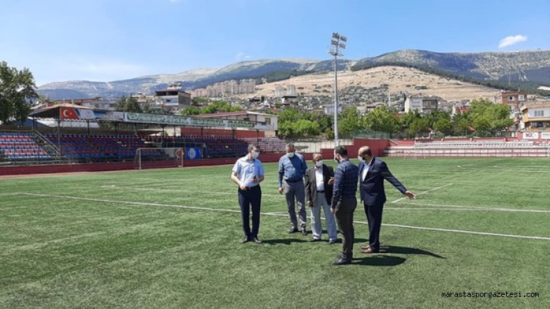 Batıpark Futbol Sahasında  Cuma namazı kılınacak
