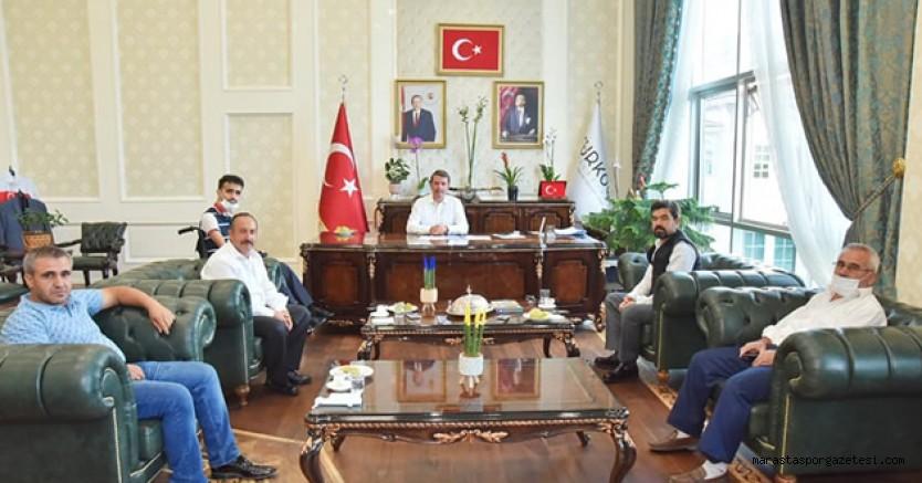 Bertizspor, Osman Okumuş'u ziyaret etti