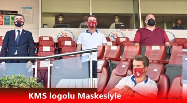 Bir tek Başkan Osman Okumuş maça geldi