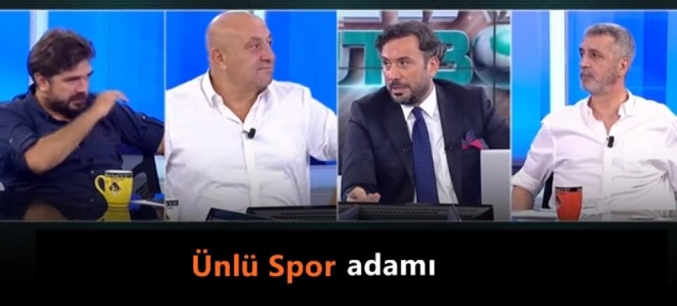 Canlı yayında Andırın Yeşildağspor'a  başarılar diledi