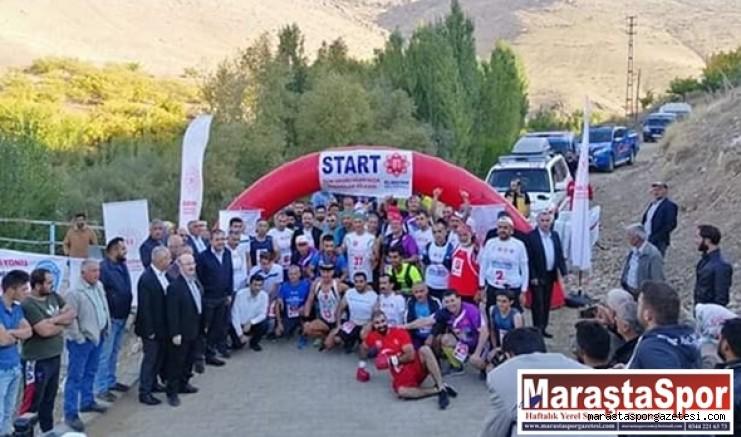 Elbistan - Afşin - Ekinözü Ultra Maraton Türkiye Şampiyonası Start aldı