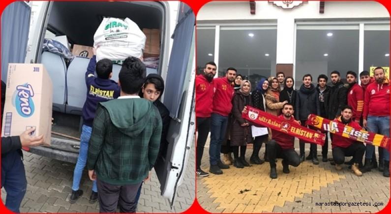 Elbistan Genç Fenerbahçe'liler  ve UltrAslan Elbistan'dan yardım kampanyası