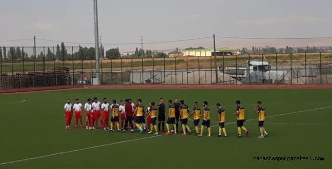 Elbistanspor ilk hazırlık maçını yaptı