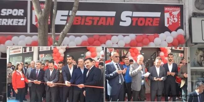 Elbistanspor Store Dualarla Açıldı